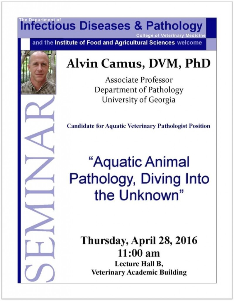 Aquatic Animal Pathology, Diving Into the Unknown