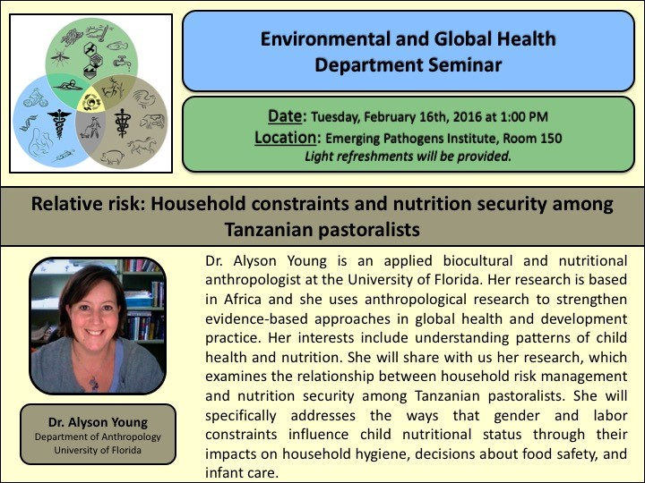 Relative risk: Household constraints and nutrition security among Tanzanian pastoralists