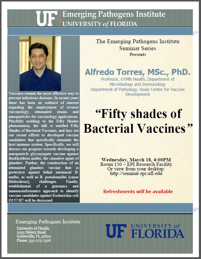 Fifty Shades of Bacterial Vaccines