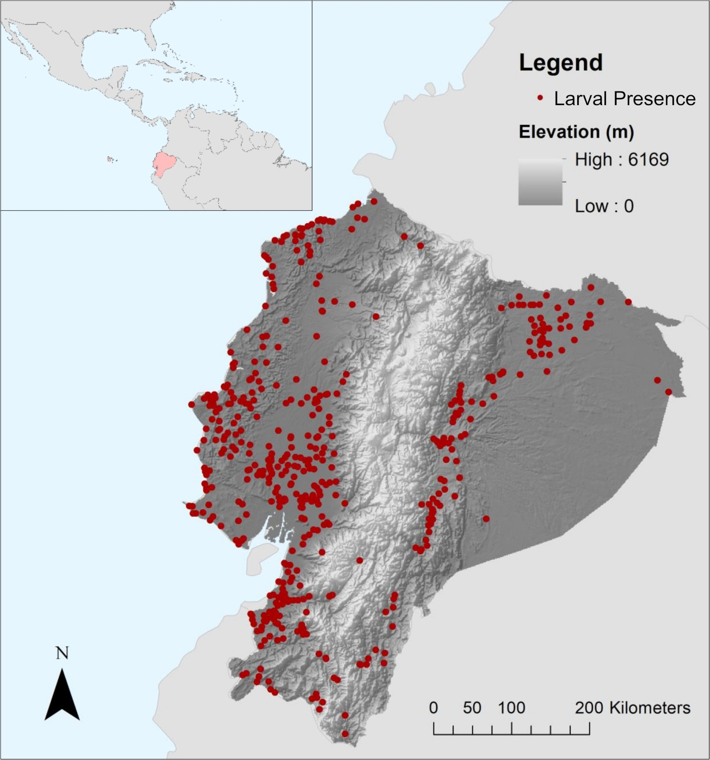 News - New maps show where mosquitoes will invade Ecuador\'s ...
