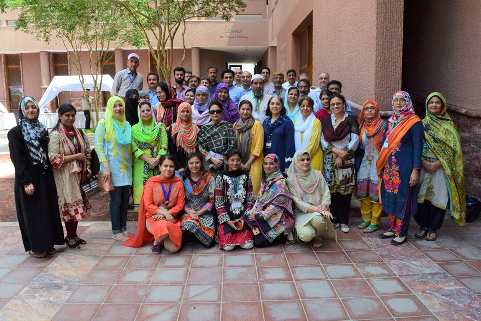 Participants from urban and rural cities of Pakistan's Sindh region trained at Aga Khan University in Karachi between May 8-10th in 2018 to learn about arbovirus field epidemiology, laboratory diagnosis and vector analysis. Photo courtesy of Erum Khan.